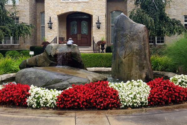 Colorful Landscape Design and Plantings
