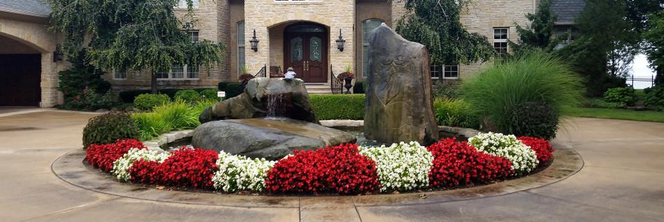 Colorful Landscape Design and Plantings