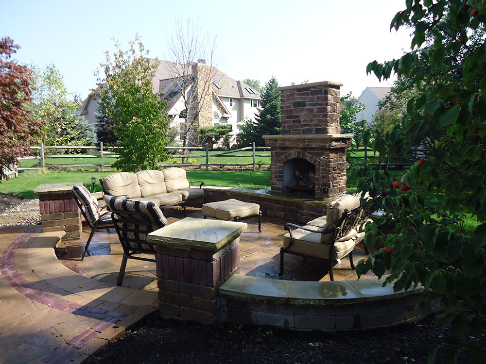 cutting-edge-landscape-27 - Outdoor Fireplaces & Fire PitsCutting Edge Landscape Ohio